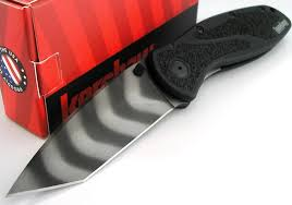 kershaw kitchen knives kershaw usa blur tiger stripe bdz1 tanto assistedopening knife new