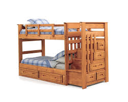 Plans For Bunk Bed With Stairs And Drawers by Bunk Beds Stairs For Loft Access Jordan Twin Over Full Bunk Bed