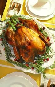 impressing the guests as chief turkey officer with moist