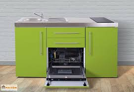 cuisine au lave vaisselle mini cuisine avec frigo lave vaisselle et vitrocéramiques mpgs160