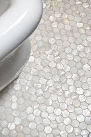 Bathroom Floor Tile by White Hexagon Pearl Shell Tile Tile Ideas Bathroom Tiling And
