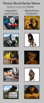 Parody Meme - parody movie series meme madagascar 2 by mrathehedgehog on deviantart