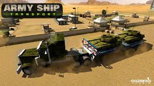 futuristic military jeep army ship transporter game cargo truck driver android apps on