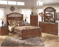 King Bedroom Sets Ashley Furniture Fairbrooks Estate 4pc Poster Bedroom Set