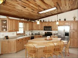 Ready Made Kitchen Cabinets by Kitchen Stained Hickory Cabinets Gray Shaker Kitchen Cabinets