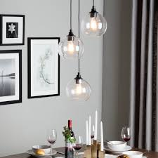 3 light kitchen fixture love the light overstock 171 uptown 3 light clear globe cluster