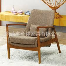 Wooden Chairs For Living Room Fashion Solid Wood Leisure Chair For Study Room Restaurant Coffee