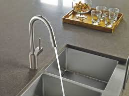 Moen Touch Kitchen Faucet Beautiful Moen Touchless Kitchen Faucet Also Esrs In Spot