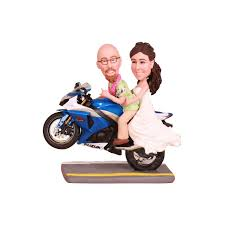 motorcycle wedding cake toppers and groom motorcycle wedding cake toppers