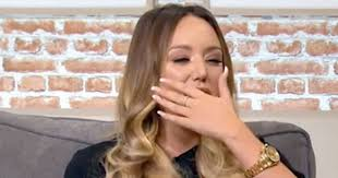 charlotte days of lives hairstyles charlotte crosby sobs on live tv as she reveals she knew about