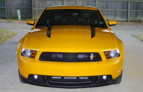 Yellow Mustang With Black Stripes 2012 Mustang Gt Cs Yellow Blaze Met Tri Coat Page 2 Ford