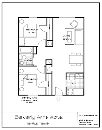 Nice House Plans Apartments Floor Plans 2 Bedrooms Bibliafull Com