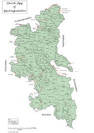 Berkshire England Map by Dustydocs English Parish Registers Online