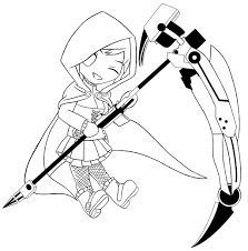 chibi ruby rose by alexacedeath on deviantart