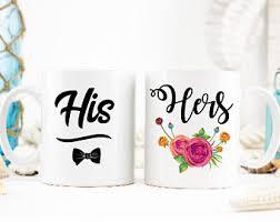 his and mug his and hers mugs etsy