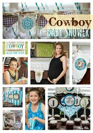 sweet little cowboy baby shower flairy tales