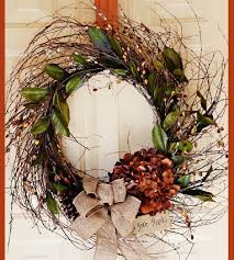 10 diy thanksgiving wreaths for any door