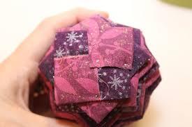 folded fabric pinecones thriftyfun