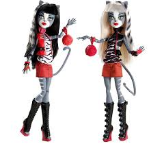 Halloween Monster High Doll Monster High Basic Wave 2 Love At First Bite Clawd Wolf