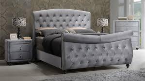 Upholstered Sleigh Bed Rosdorf Park Grant Upholstered Sleigh Bed Ebay