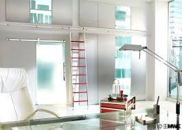 Sliding Bookshelf Ladder Library Ladder System U2013 Instavite Me