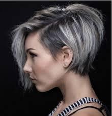 coupe cheveux gris cheveux gris court png
