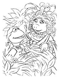 muppets christmas coloring pages muppets christmas coloring pages