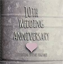 10th wedding anniversary inspirationzstore occasions 10th wedding