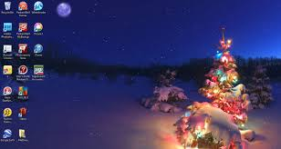 decorate your desktop during christmas with windows 7 holiday