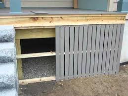 using composite materials for weather resistant skirting part 2