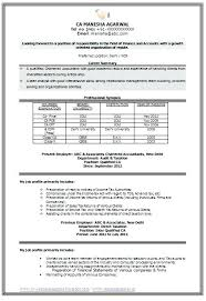 resume format for accountant documents new resume format sle micxikine me