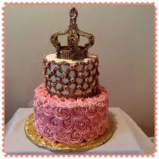 princess baby shower cake royal princess baby shower cake buttercream with gold fond flickr