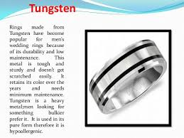 wedding band material men s wedding ring metal options