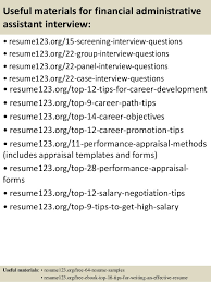 Objective For Administrative Assistant Resume Examples by Top 8 Financial Administrative Assistant Resume Samples