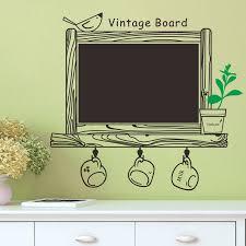 aliexpress com buy creative vintage blackboard sticker wall