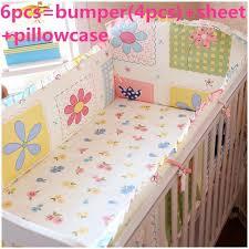 promotion 6 7pcs baby boy crib bedding sets crib cot cradle