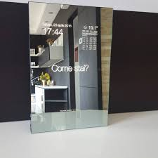Smart Technologies by Throughglass Tech By Re Mago For Smart Mirror Makers Mirror Iot