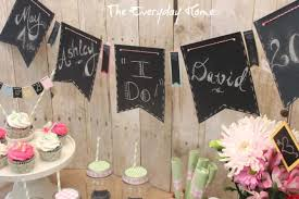 wedding banner sayings easy and budget friendly bridal shower ideas the everyday home
