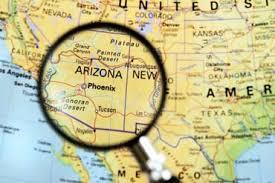 us map arizona state arizona lesson and photo tour az symbols