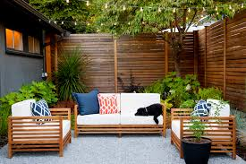 Mid Century Modern Furniture Seattle by Mid Century Seattle Courtyard Remodel By Project Groundwork With