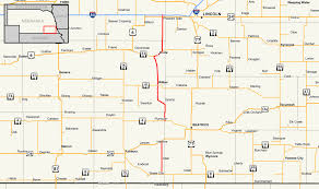 Lincoln Ne Map Nebraska Highway 103 Wikipedia