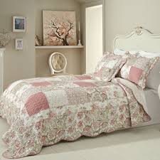 Cotton Quilted Bedspread Abigail Quilted Bedspread Online Shop