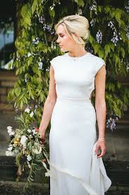 at home greenery filled marquee wedding in yorkshire with backless