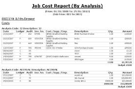 construction cost report template costing software for the uk construction industry accounting