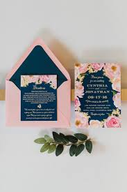 navy and blush wedding invitations navy and blush pink wedding invitations best wedding 2017