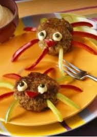 cuisine facile pour enfant boulettes de viande pour enfants araignées