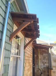 How To Build Window Awnings Reclaimed Redwood Awnings U2014 Perspective Design Build