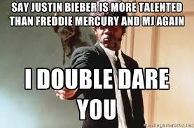 Double Picture Meme Generator - freddie mercury meme generator is more talented than freddie