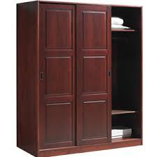Closet Slide Door Sliding Door Closet Wardrobe Solid Wood 3 Sliding Door Wardrobe
