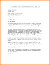 Sample Cover Letter General sample write a general cover letter